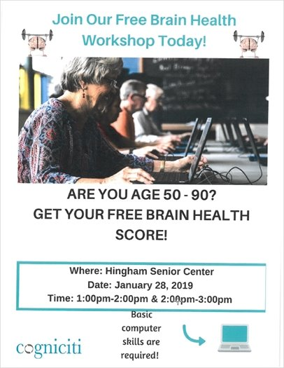 Join Our Free Brain Health Workshop Today