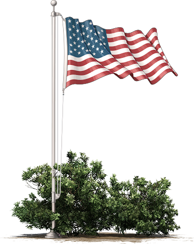 United States Flag Full Staff