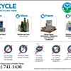 Hingham Recycling information card