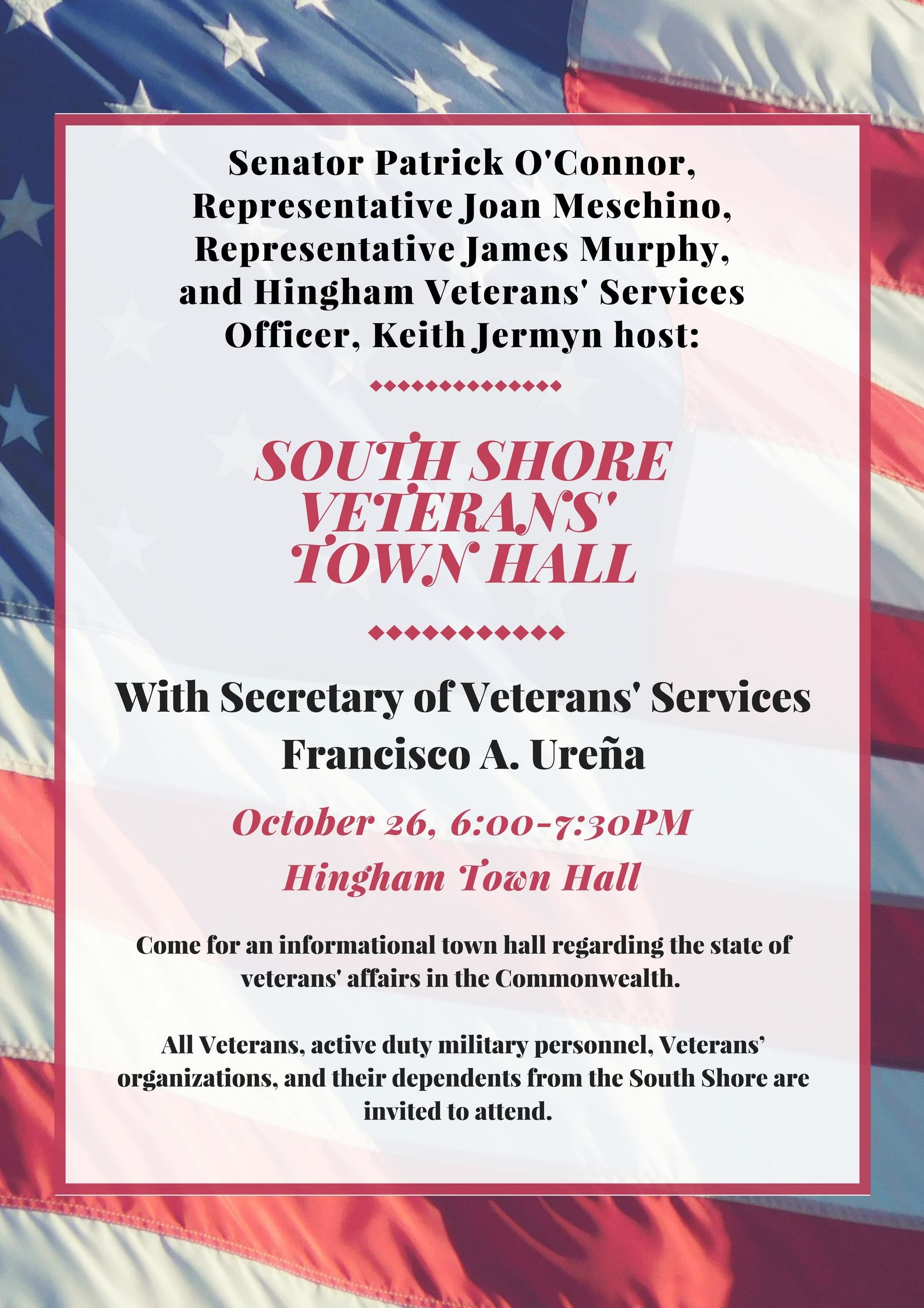 Veterans Town Hall Flyer