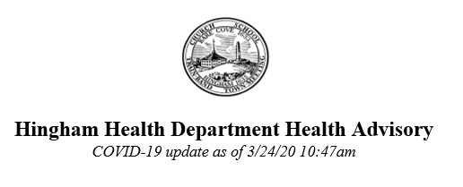 Hingham Health Advisory 032420