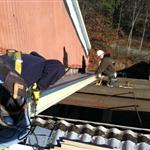 Bare Cove Fire Museum CPC Project Roof Work