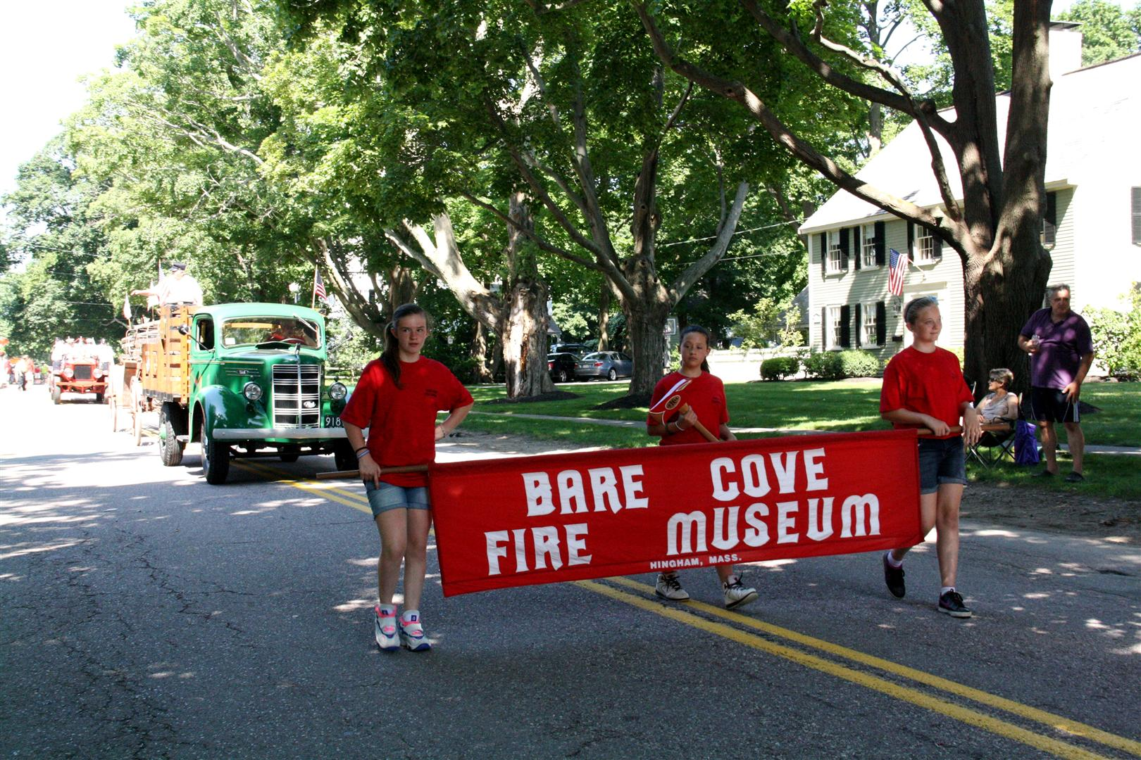Bare Cove Fire Museum Procession
