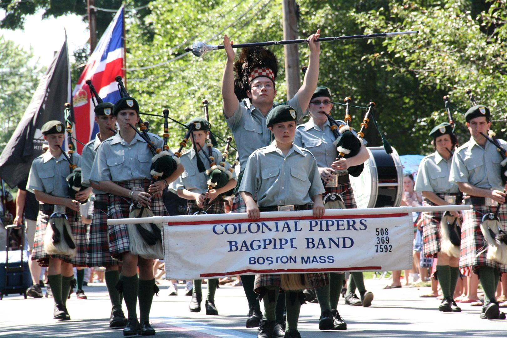 Colonial Pipers Bagpipe Band