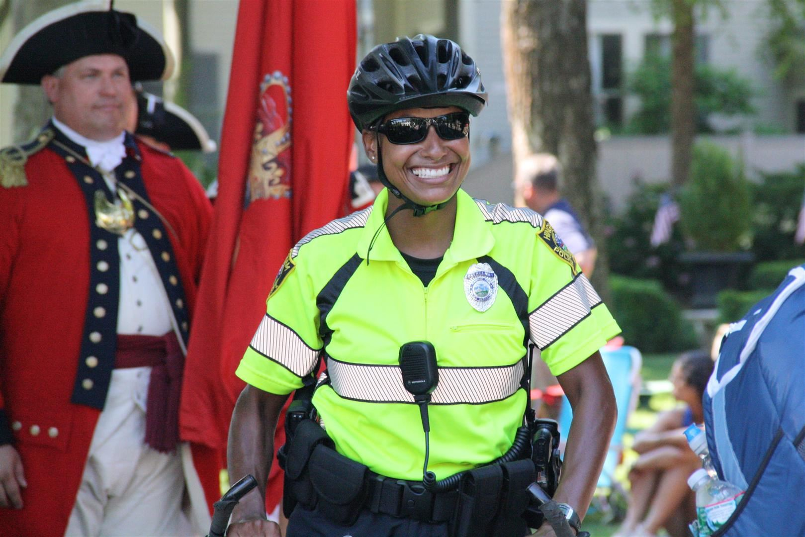 Hingham Police Officer