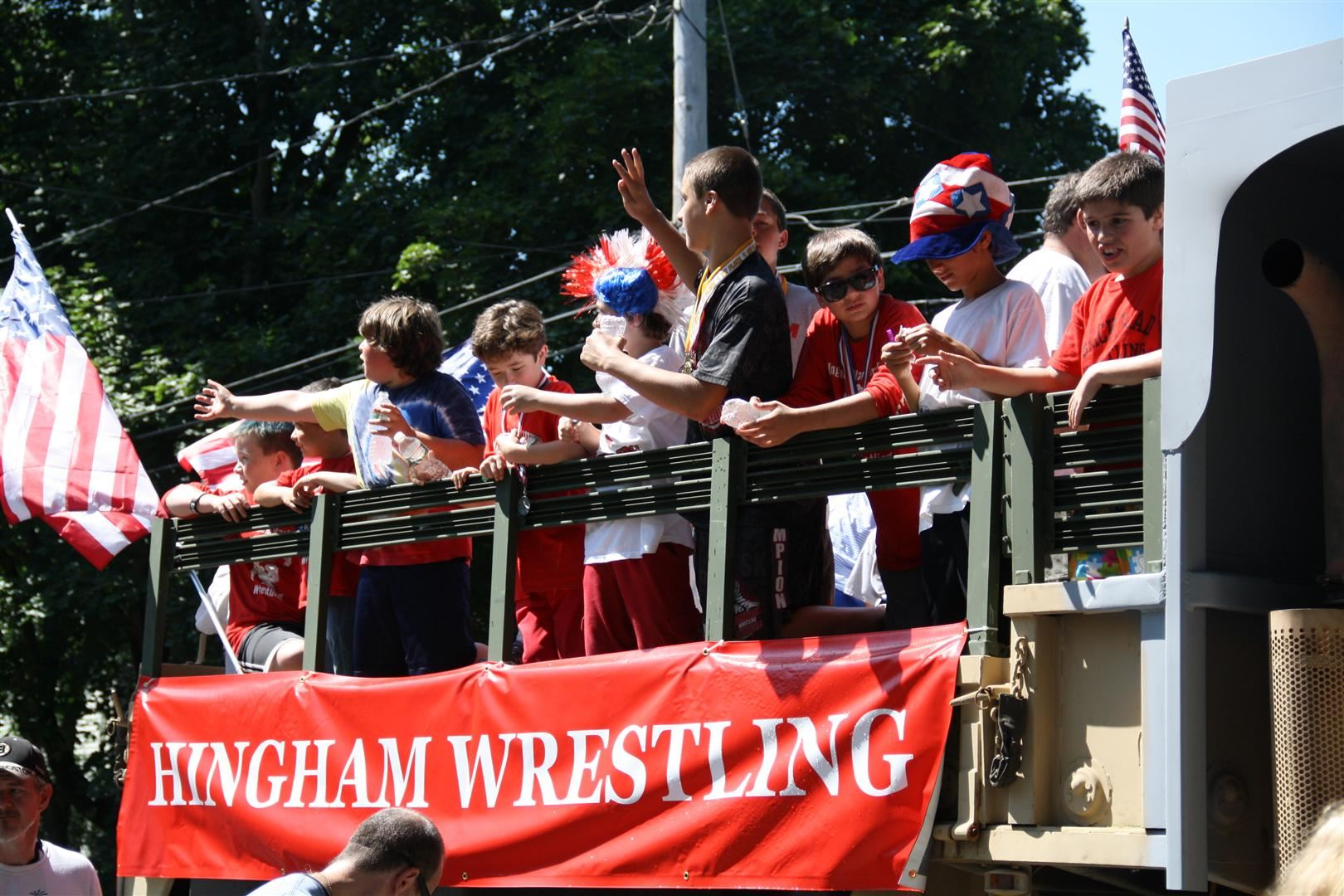 Hingham Wrestling Team