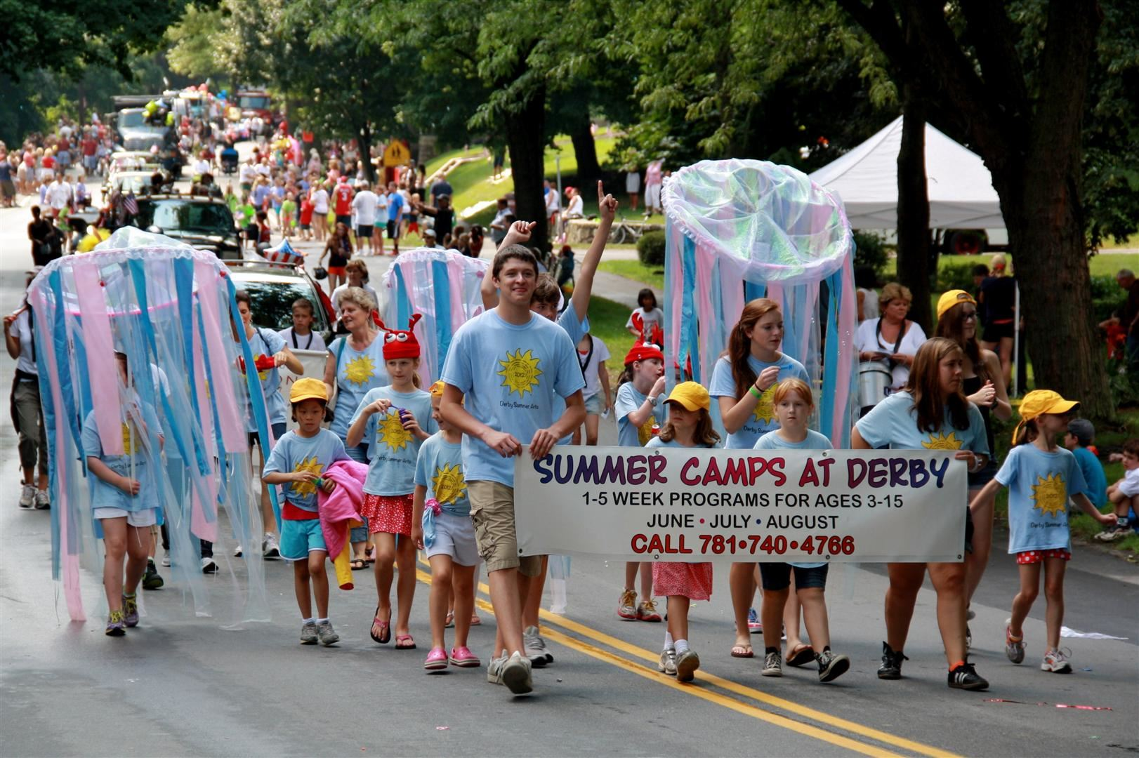Summer Camps Procession
