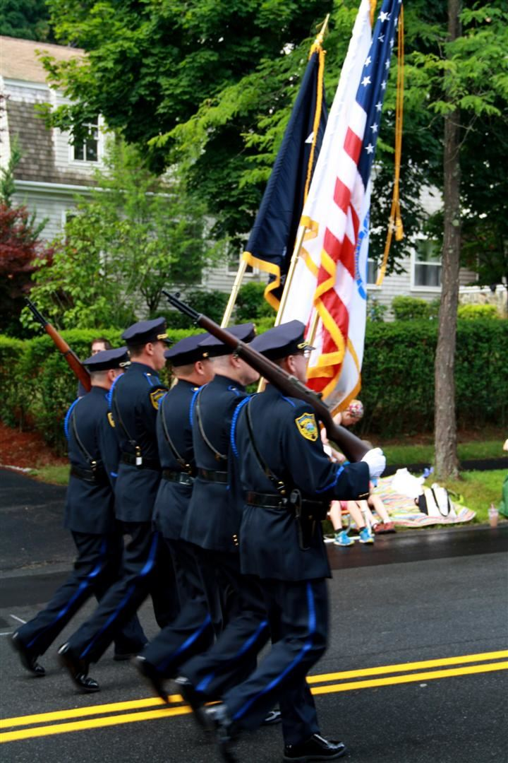 The Hingham Police Honor Guard