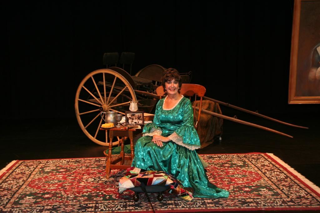 Derby Academy hosted one-woman play by Donna Milan