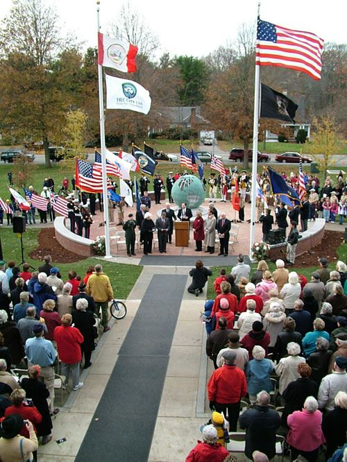 Veterans Memorial Monument Grand Opening Ceremony